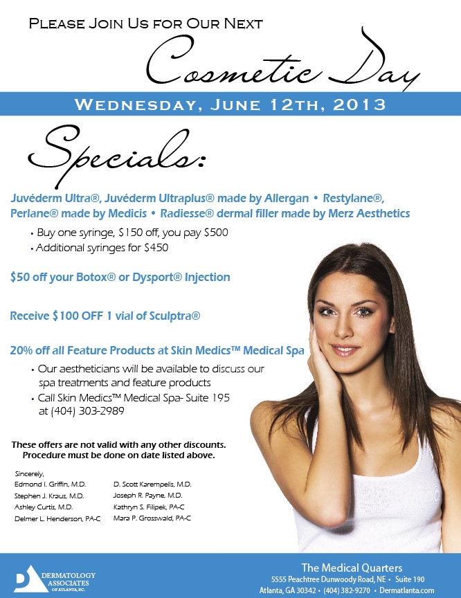 Botox Facial Filler Deals in Atlanta GA