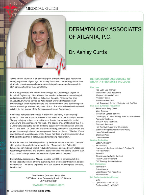 dermatology associates dr ashley curtis