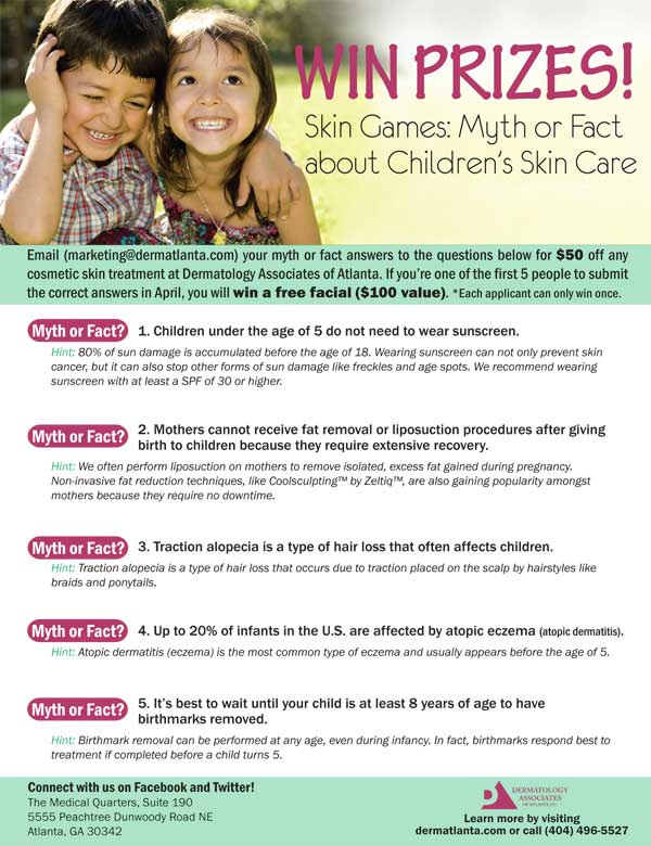 children's skin care