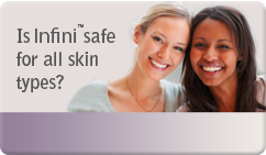 is infini safe for all skin types