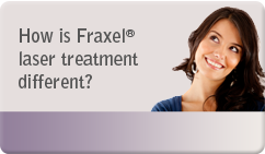 how is fraxel laser treatment different