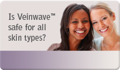 is veinwave safe for all skin types