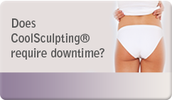 does coolsculpting require downtime