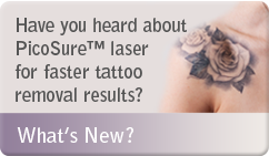 Have you heard about Picosure tattoo removal