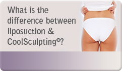 difference between liposuction & coolsculpting