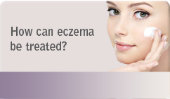 How can eczema be treated