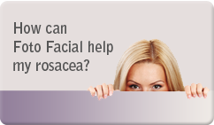 How can fotofacial hel pmy rosacea