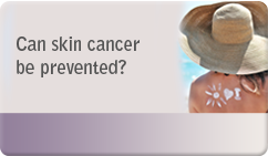 Can skin cancer be prevented