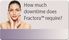 How much downtime does Fractora™ require?