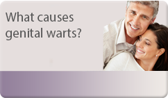 what causes genital warts