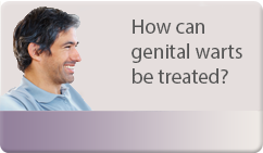 how can gential warts be treated