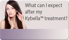What can I expect after my Kybella™ treatment?
