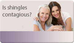 is shingles contagious