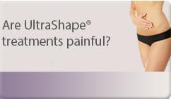 are ultrashape treatments painful