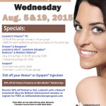DAA August 2015 Cosmetic Days