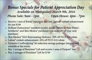Bonus Specials