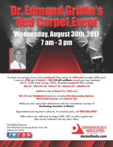 Dr. griffin Red carpet event