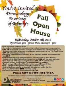 DAA Fall 2016 open house and phone sale