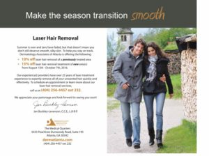 laser hair removal discounts atlanta