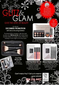 Glo Minerals Makeup Event – Wednesday, December 16th, 2015
