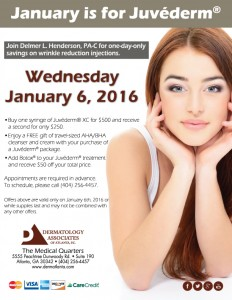 January is for Juvederm Flyer Image