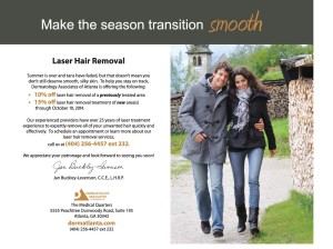 Laser Hair Removal - derm atlanta