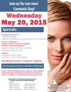 DAA Cosmetic Day May 2015