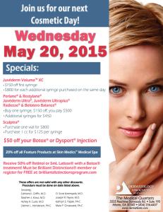 DAA Cosmetic Day May 2015