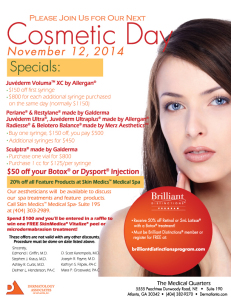 Cosmetic Day Atlanta GA november 2014 - Dermatology Associates of Atlanta