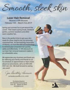 atlanta laser hair removal discounts