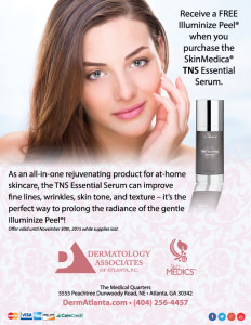 FREE Illuminize® Peel with Purchase of TNS Essential Serum