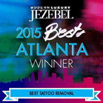 2015 Best Atlanta Winner Best Tattoo Removal