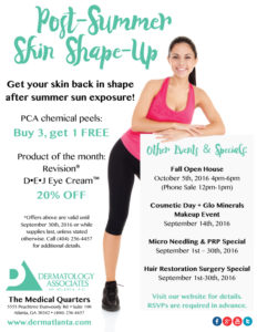 chemical peel discounts atlanta