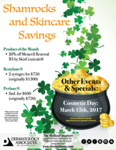 Shamrocks & Skincare Savings