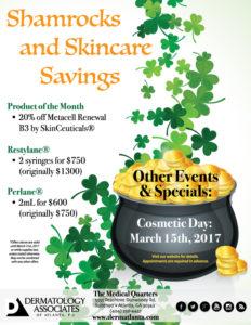 Shamrocks & Skincare Savings