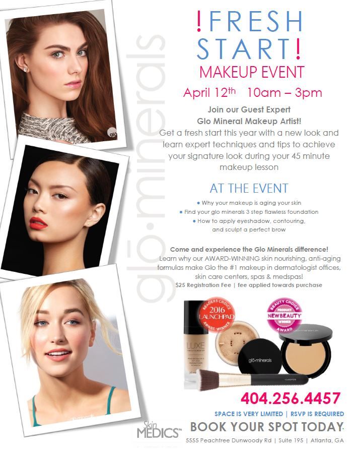 April Skin Care And Skin Treatment Specials